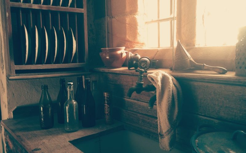 interior-of-vintage-kitchen